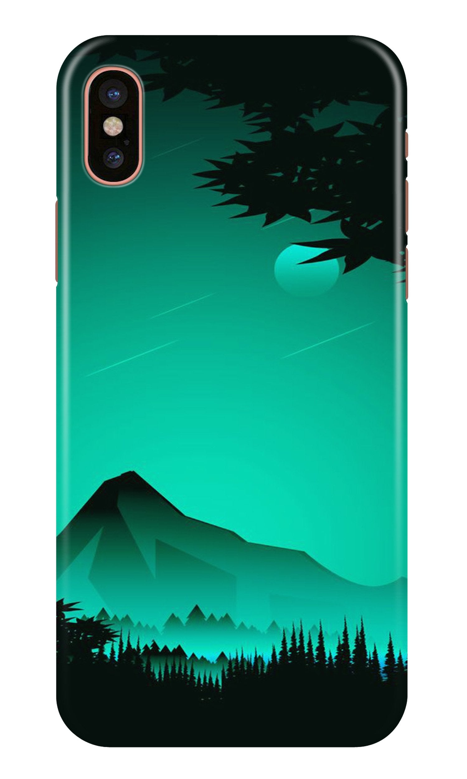 Moon Mountain Case for iPhone Xr (Design - 204)