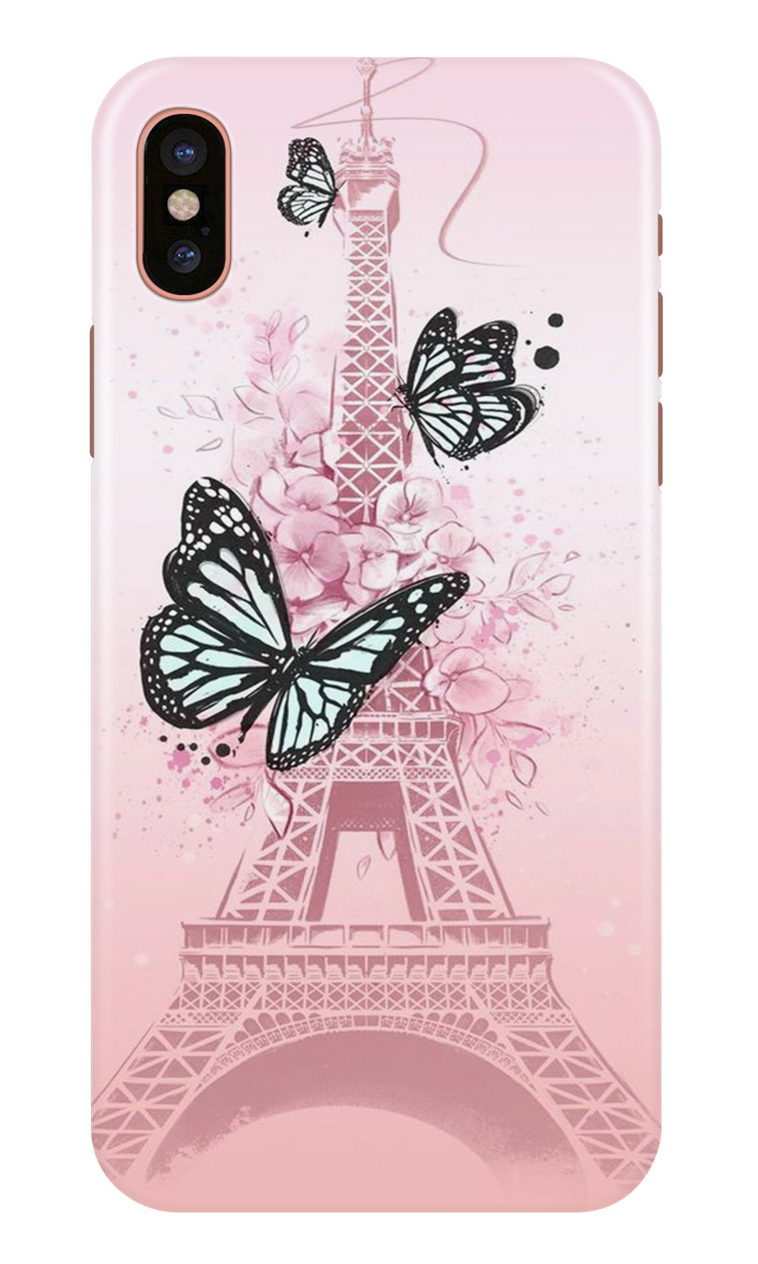 Eiffel Tower Case for iPhone Xr (Design No. 211)