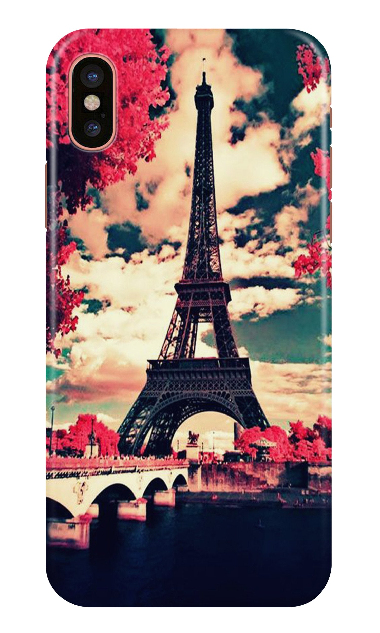 Eiffel Tower Case for iPhone Xr (Design No. 212)