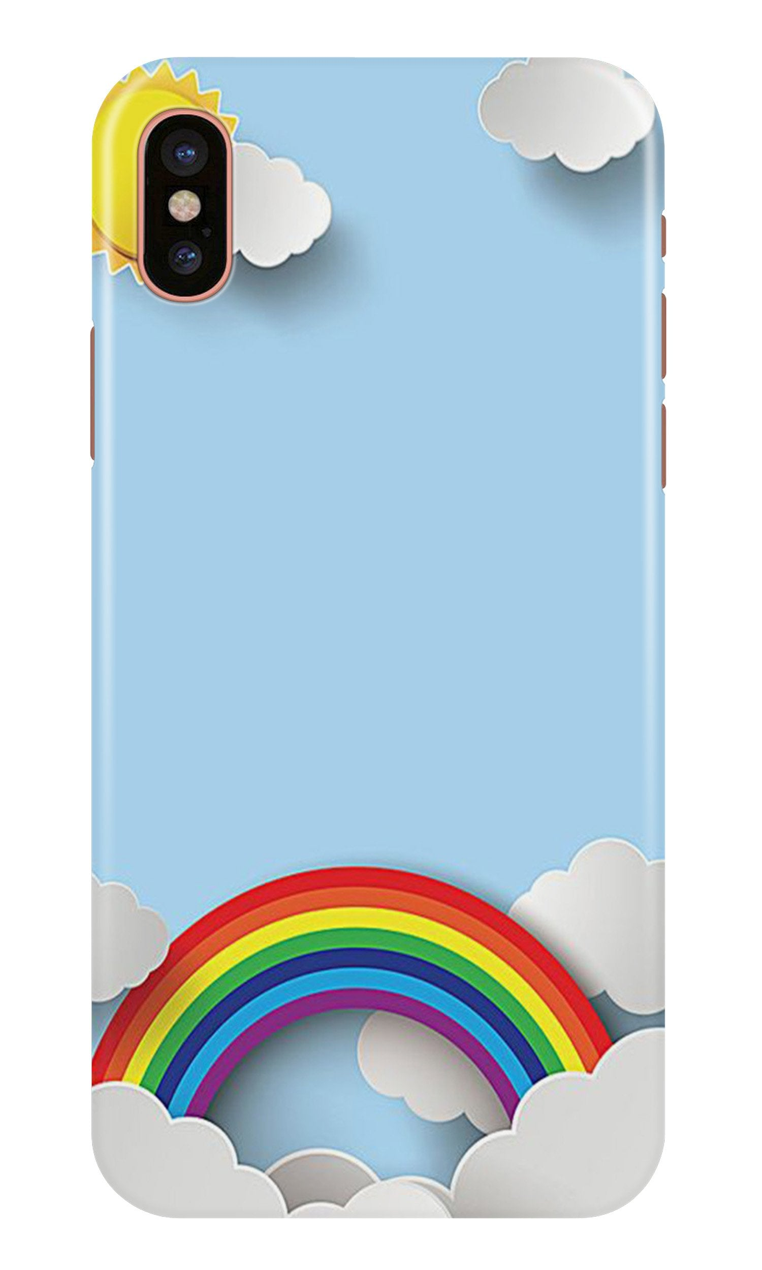 Rainbow Case for iPhone Xr (Design No. 225)