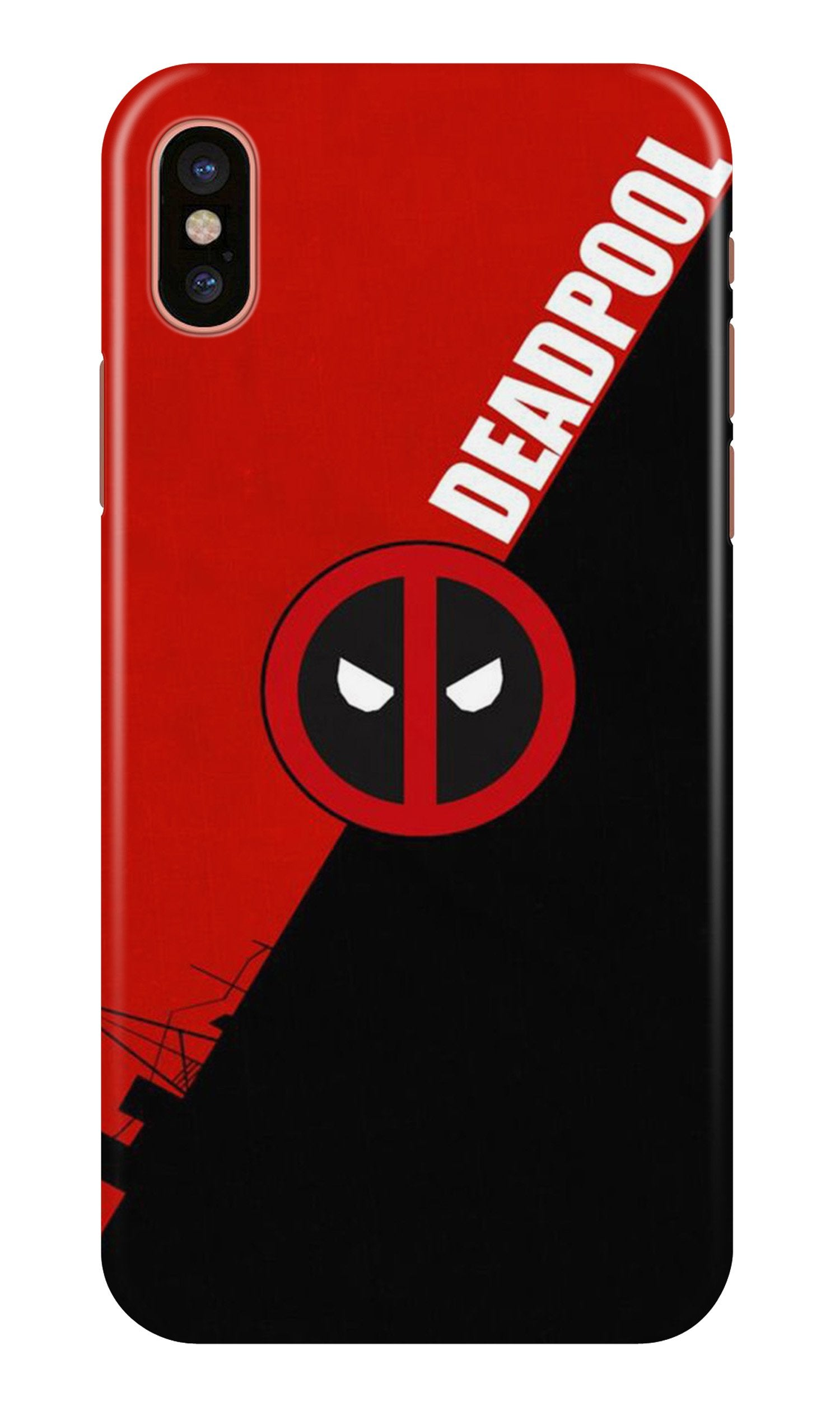 Deadpool Case for iPhone Xr (Design No. 248)