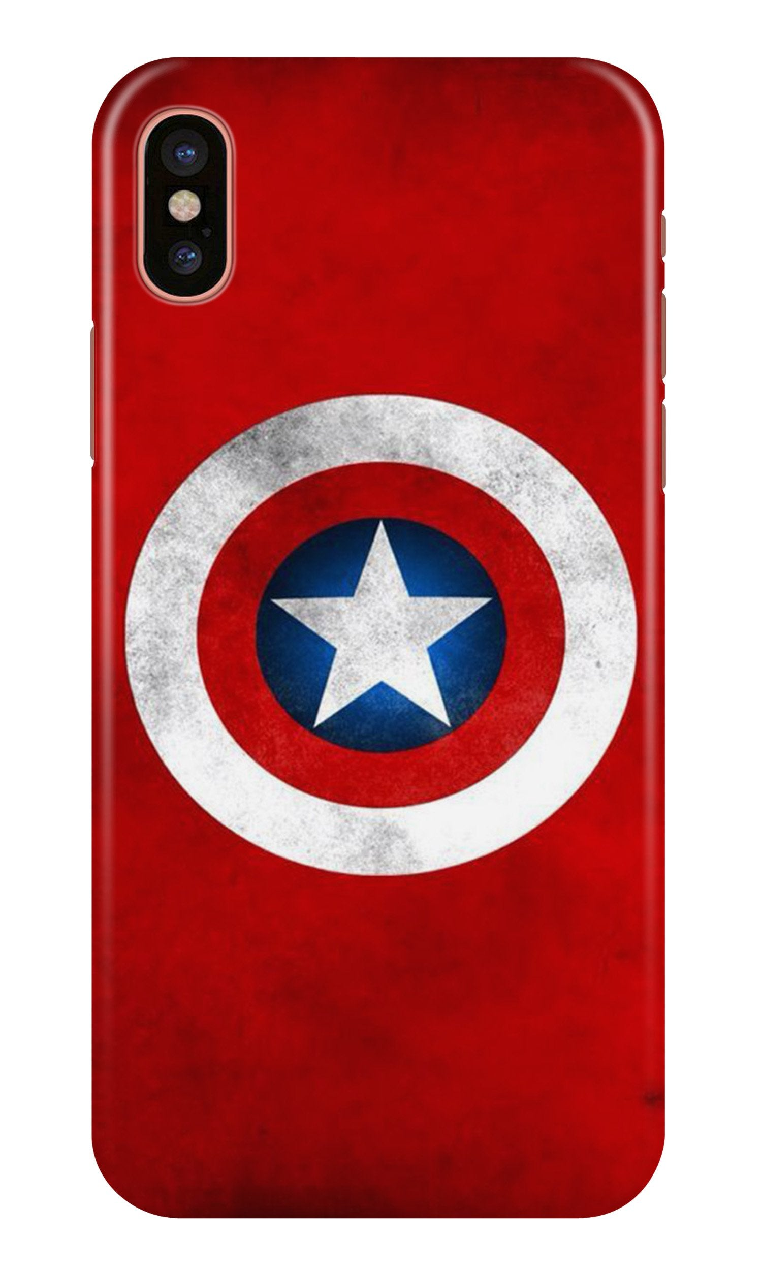 Captain America Case for iPhone Xr (Design No. 249)