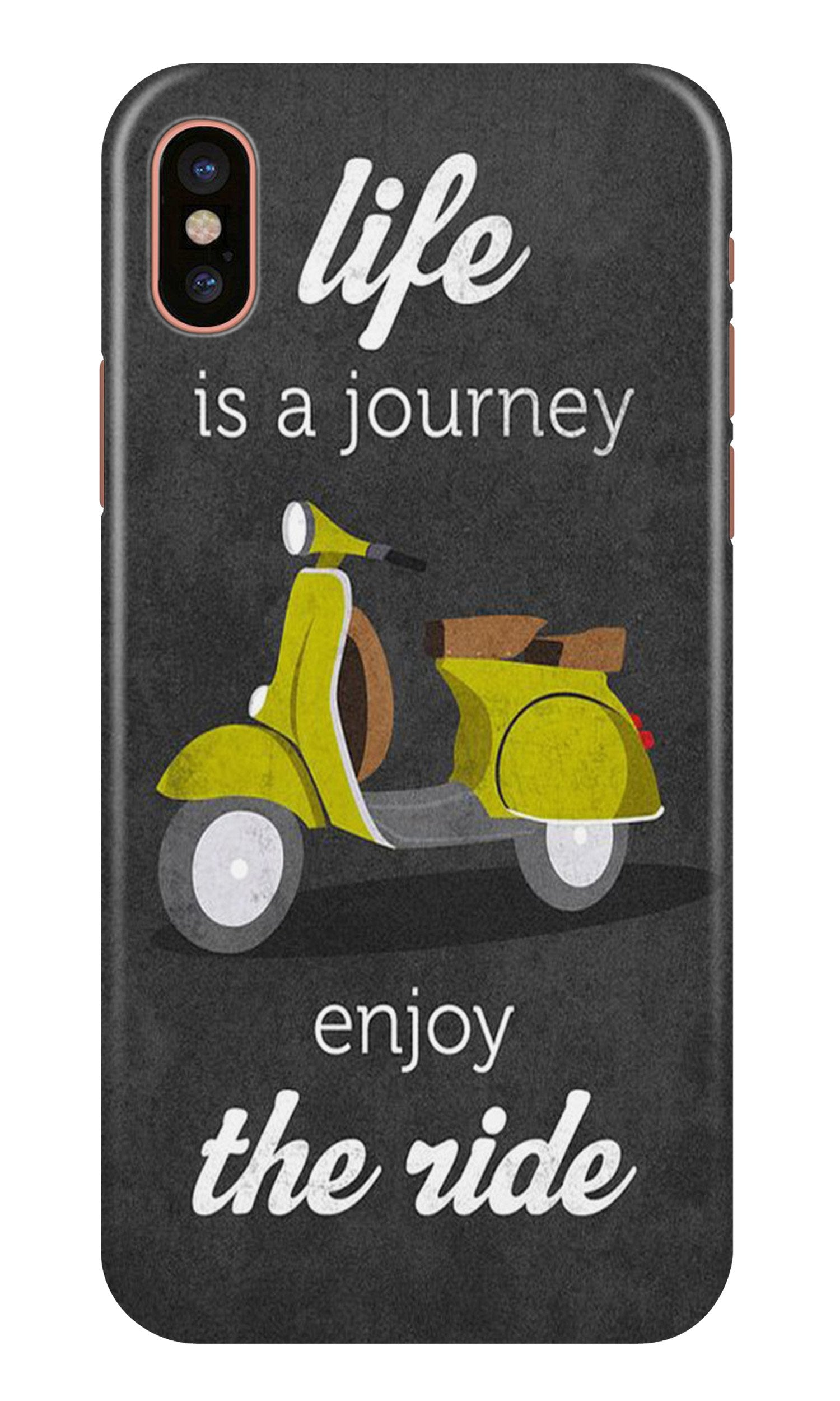 Life is a Journey Case for iPhone Xr (Design No. 261)