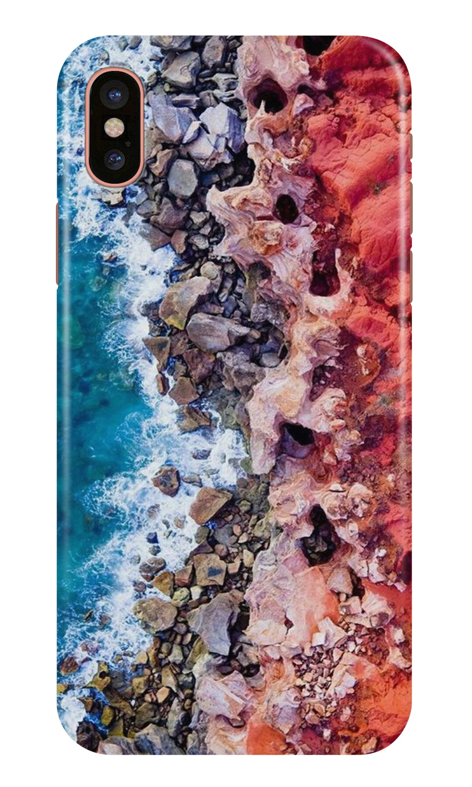 Sea Shore Case for iPhone Xr (Design No. 273)