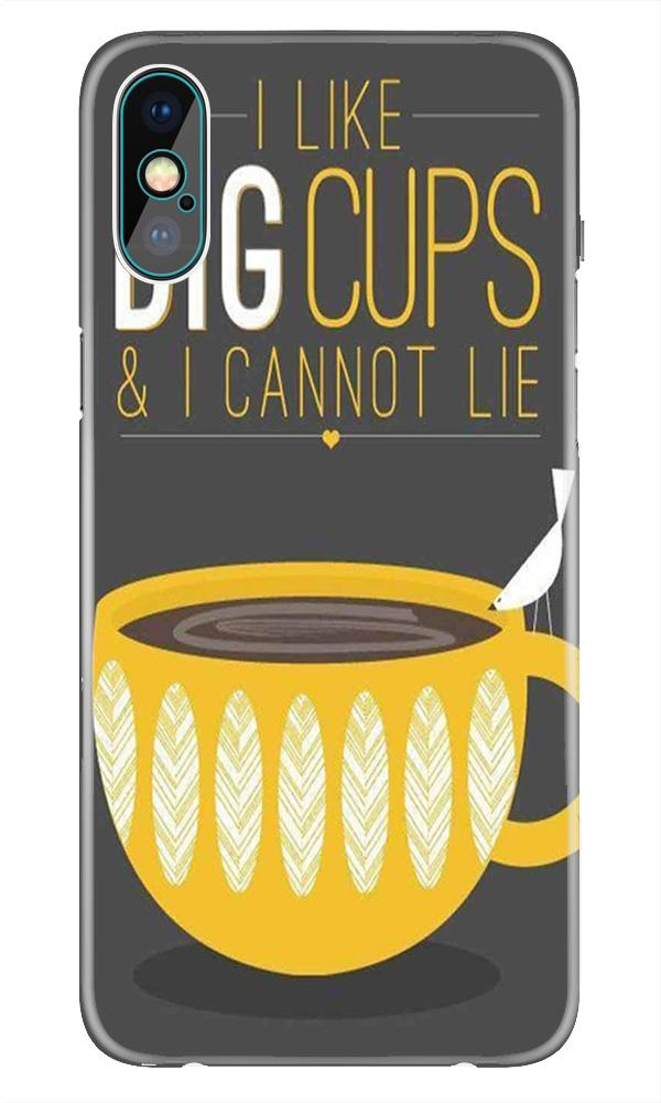 Big Cups Coffee Mobile Back Case for iPhone Xr  (Design - 352)