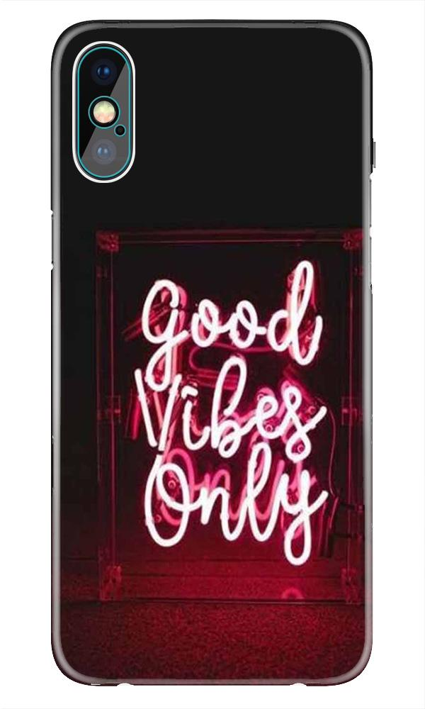 Good Vibes Only Mobile Back Case for iPhone Xr  (Design - 354)