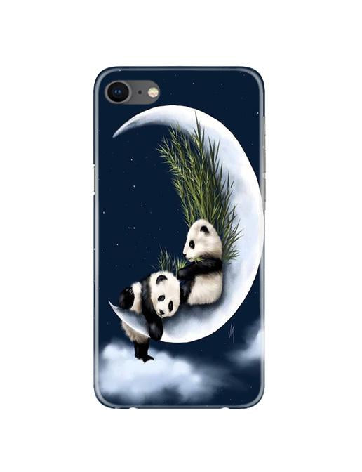 Panda Moon Mobile Back Case for iPhone 8  (Design - 318)