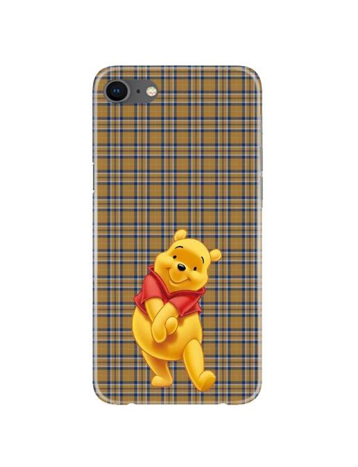 Pooh Mobile Back Case for iPhone 8  (Design - 321)