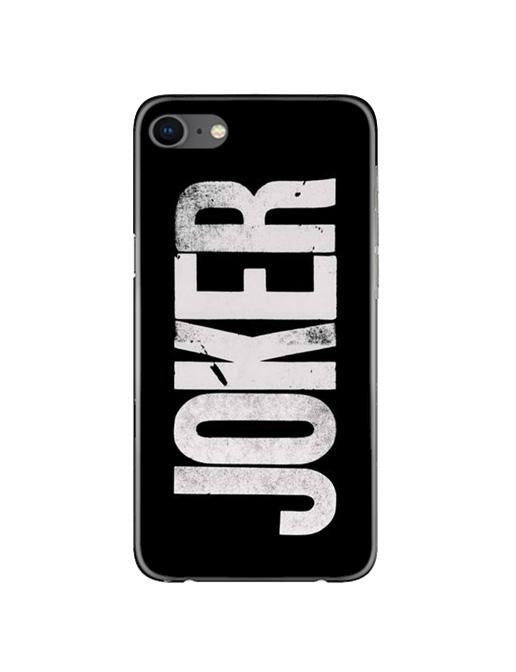 Joker Mobile Back Case for iPhone 8  (Design - 327)