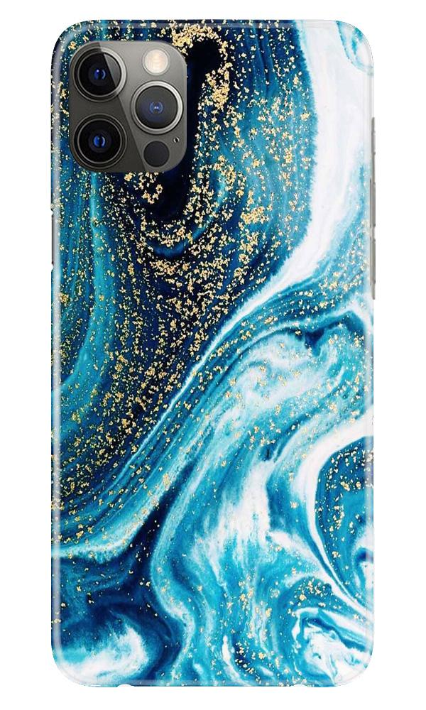 Marble Texture Mobile Back Case for iPhone 12 Pro Max (Design - 308)
