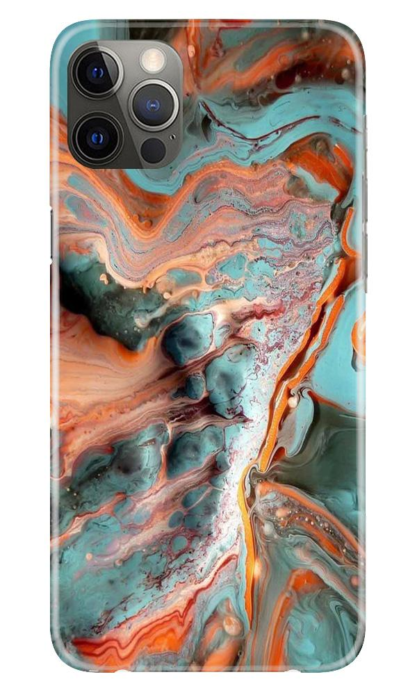 Marble Texture Mobile Back Case for iPhone 12 Pro Max (Design - 309)