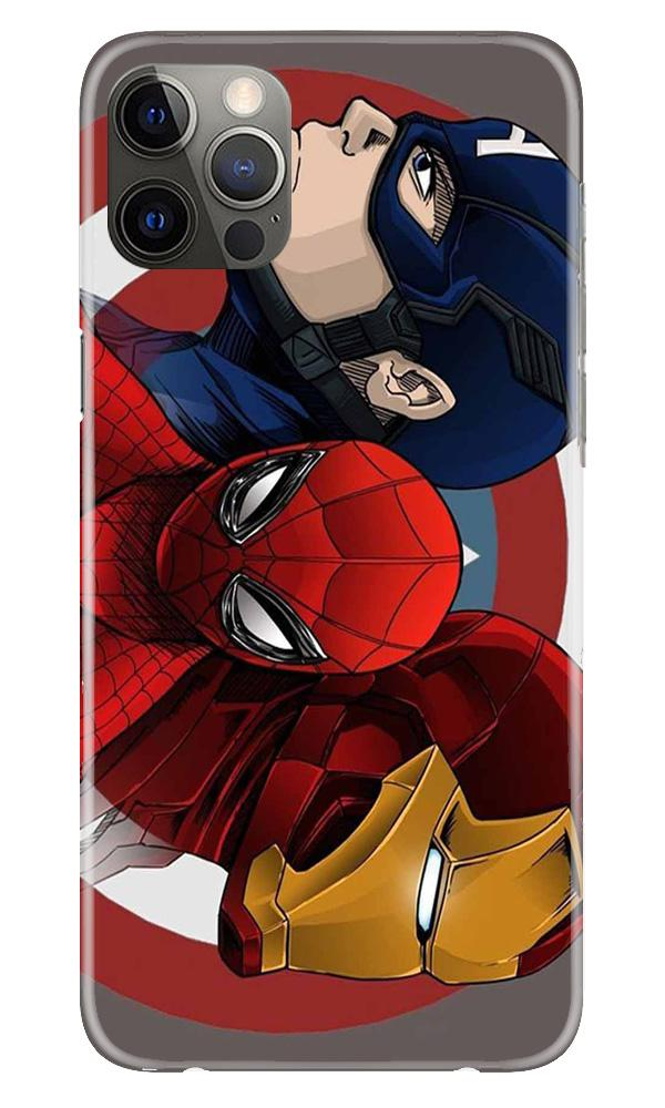 Superhero Mobile Back Case for iPhone 12 Pro Max (Design - 311)
