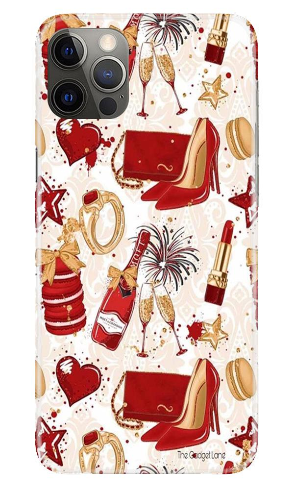 Girlish Mobile Back Case for iPhone 12 Pro Max (Design - 312)
