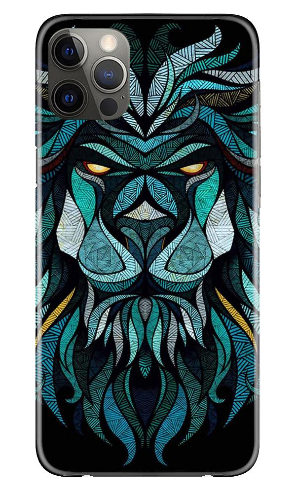 Lion Mobile Back Case for iPhone 12 Pro Max (Design - 314)