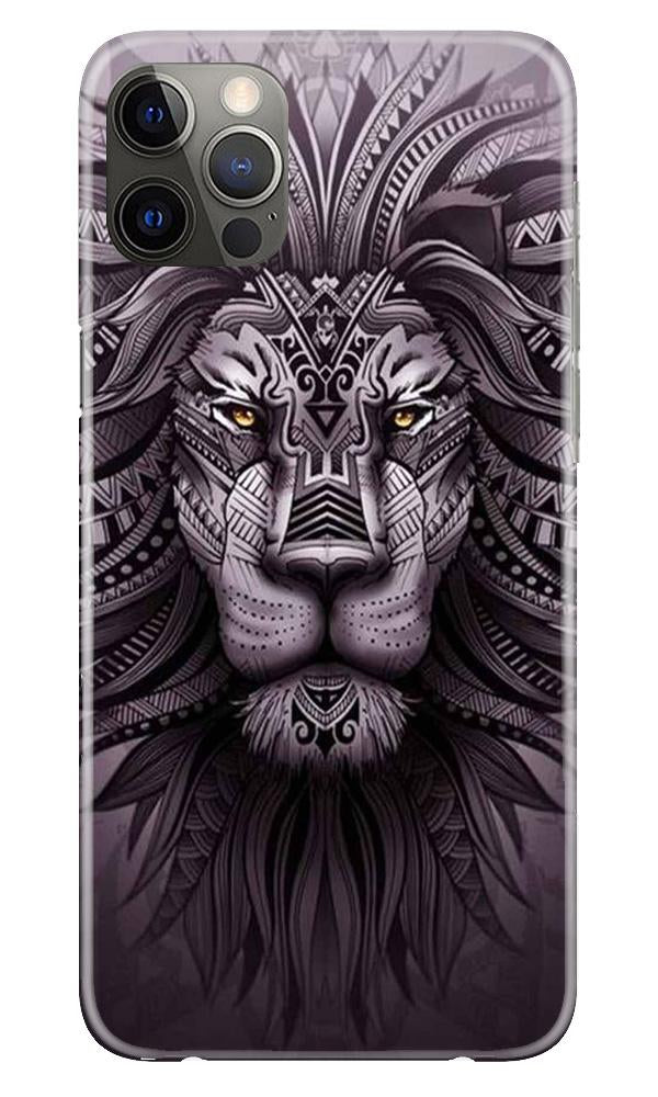 Lion Mobile Back Case for iPhone 12 Pro Max (Design - 315)