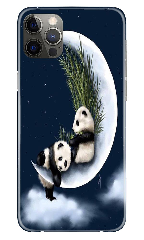 Panda Moon Mobile Back Case for iPhone 12 Pro Max (Design - 318)