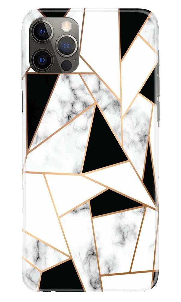 Marble Texture Mobile Back Case for iPhone 12 Pro Max (Design - 322)