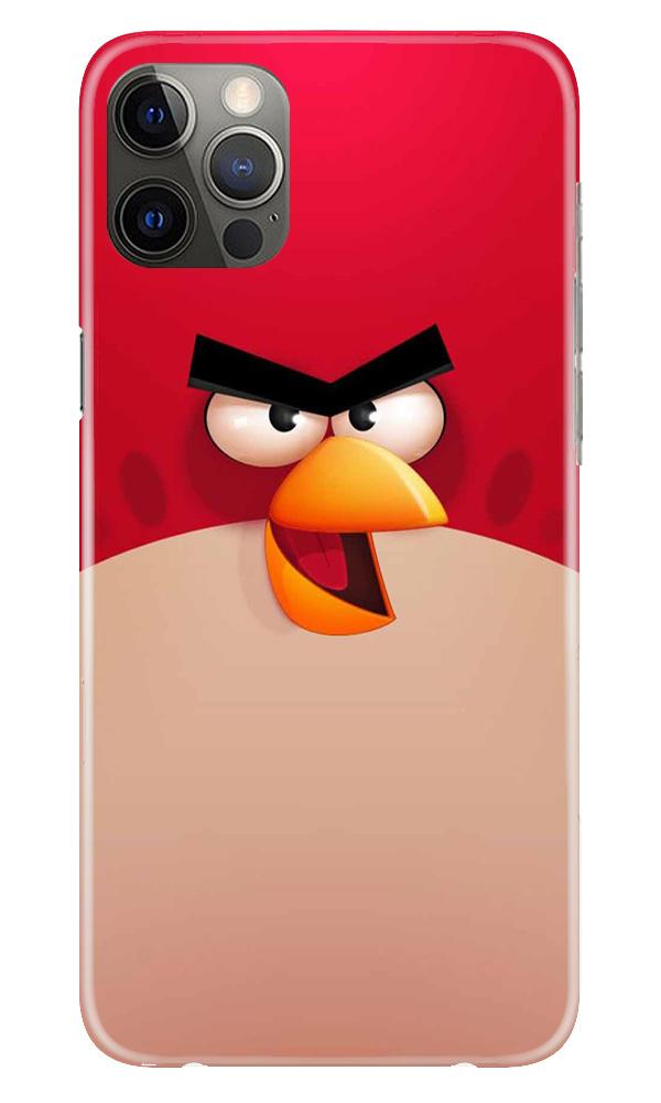Angry Bird Red Mobile Back Case for iPhone 12 Pro Max (Design - 325)