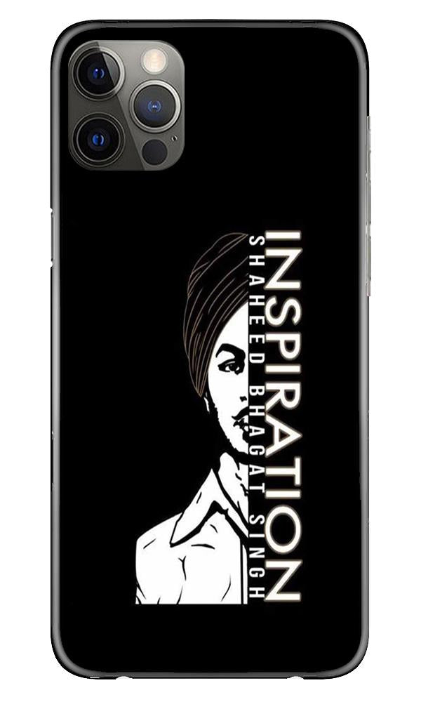 Bhagat Singh Mobile Back Case for iPhone 12 Pro Max (Design - 329)