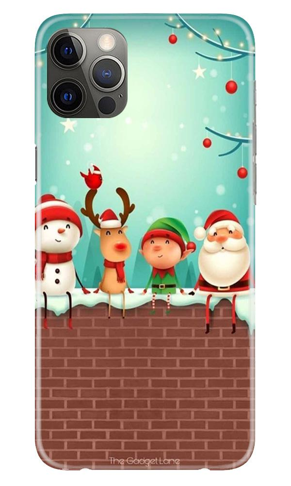 Santa Claus Mobile Back Case for iPhone 12 Pro Max (Design - 334)