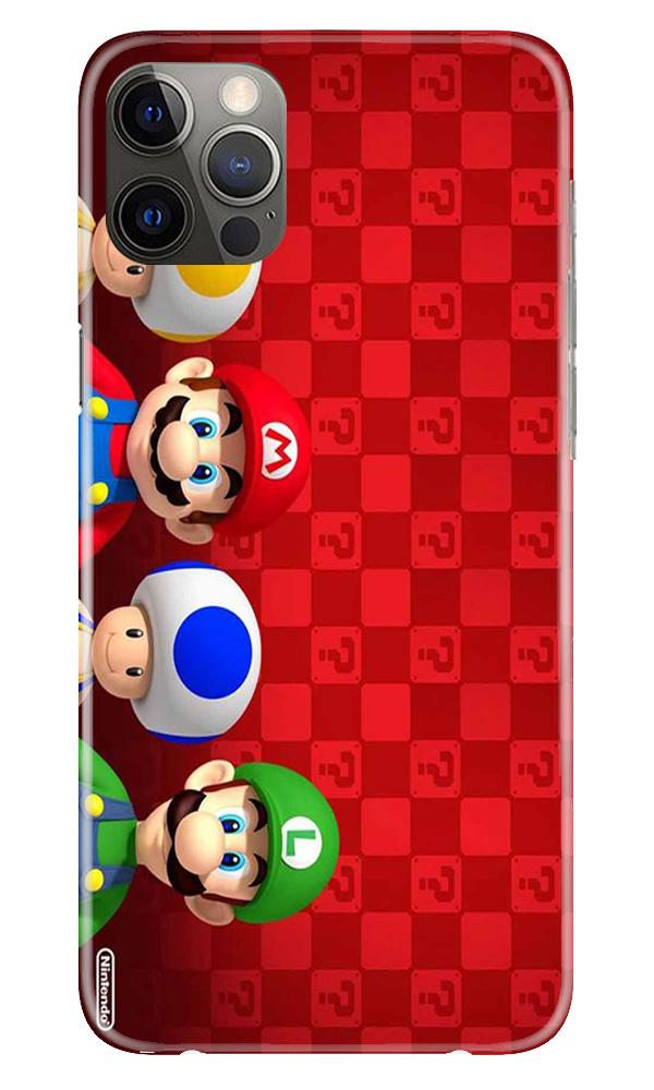 Mario Mobile Back Case for iPhone 12 Pro Max (Design - 337)