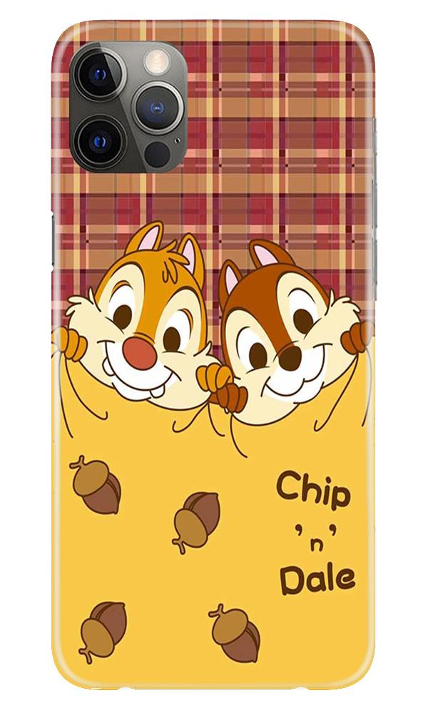 Chip n Dale Mobile Back Case for iPhone 12 Pro Max (Design - 342)