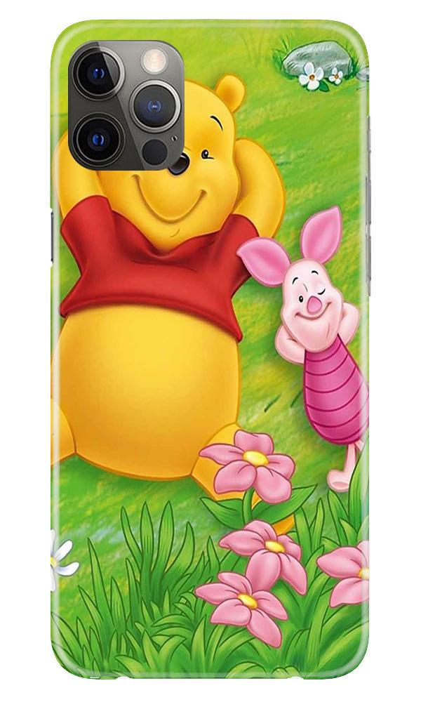 Winnie The Pooh Mobile Back Case for iPhone 12 Pro Max (Design - 348)