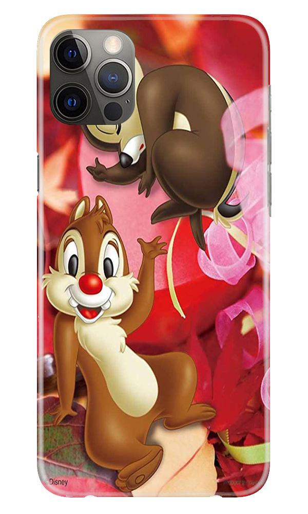 Chip n Dale Mobile Back Case for iPhone 12 Pro Max (Design - 349)