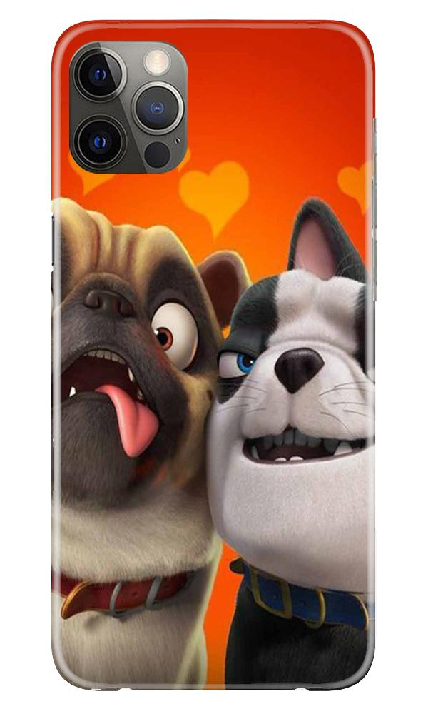 Dog Puppy Mobile Back Case for iPhone 12 Pro Max (Design - 350)