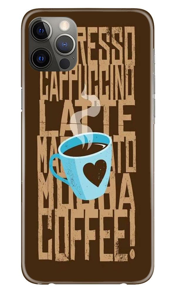 Love Coffee Mobile Back Case for iPhone 12 Pro Max (Design - 351)