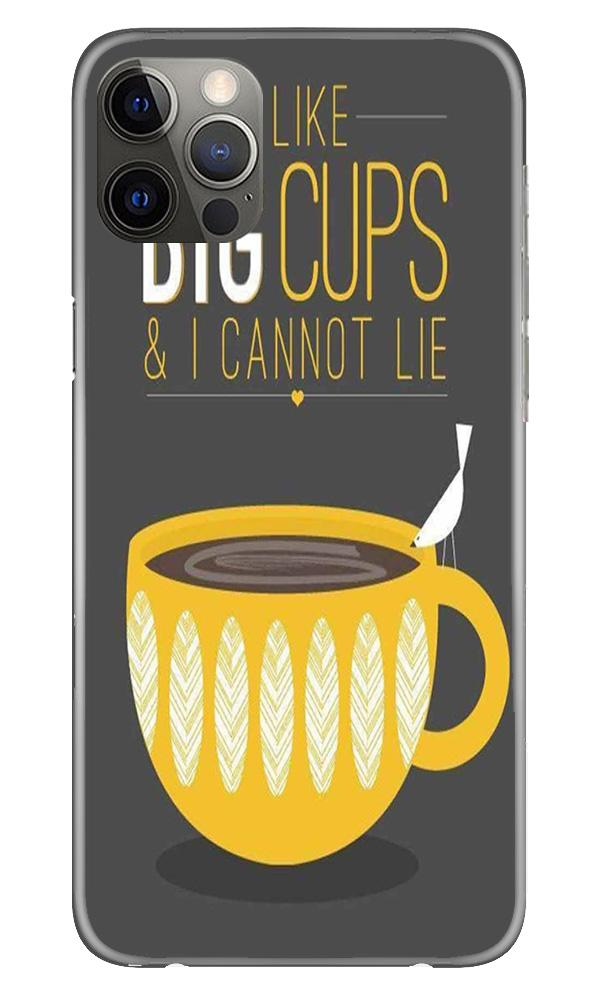 Big Cups Coffee Mobile Back Case for iPhone 12 Pro Max (Design - 352)