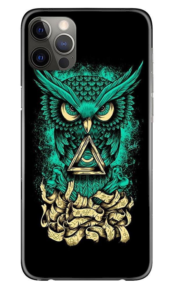 Owl Mobile Back Case for iPhone 12 Pro Max (Design - 358)