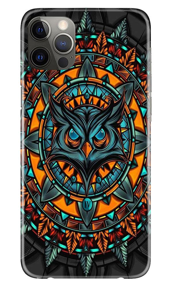 Owl Mobile Back Case for iPhone 12 Pro Max (Design - 360)