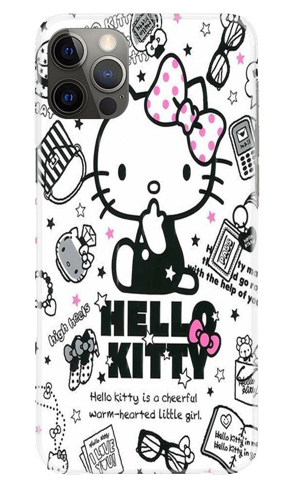 Hello Kitty Mobile Back Case for iPhone 12 Pro Max (Design - 361)