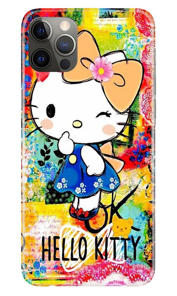 Hello Kitty Mobile Back Case for iPhone 12 Pro Max (Design - 362)