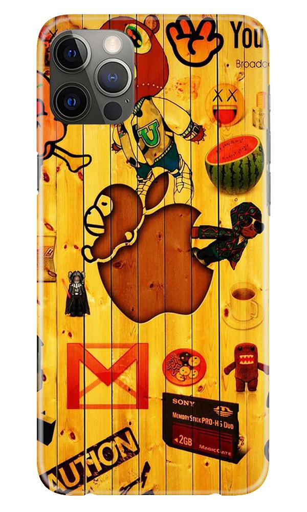 Wooden Texture Mobile Back Case for iPhone 12 Pro Max (Design - 367)