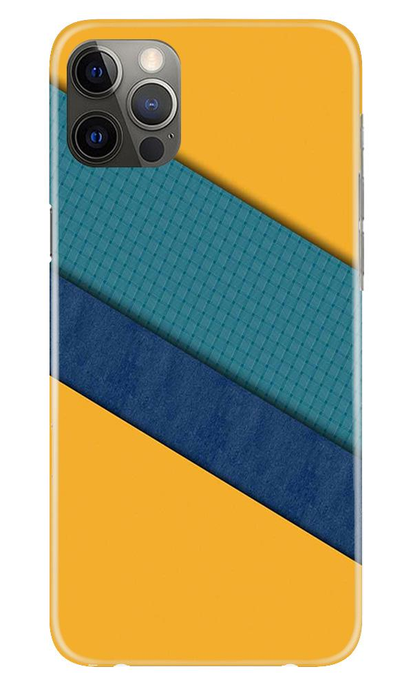 Diagonal Pattern Mobile Back Case for iPhone 12 Pro Max (Design - 370)