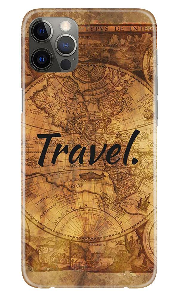 Travel Mobile Back Case for iPhone 12 Pro Max (Design - 375)