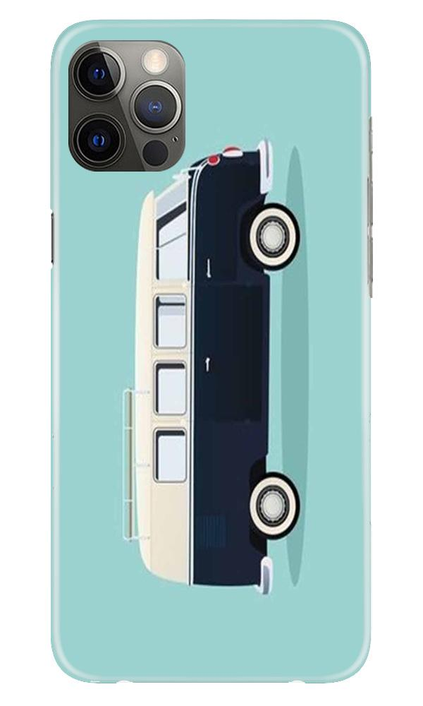 Travel Bus Mobile Back Case for iPhone 12 Pro Max (Design - 379)