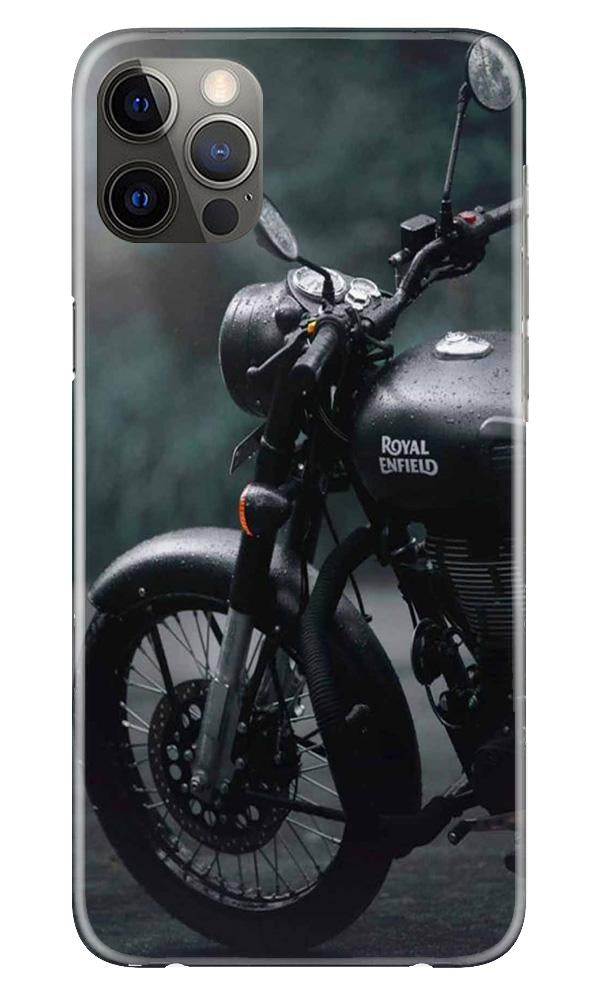 Royal Enfield Mobile Back Case for iPhone 12 Pro Max (Design - 380)