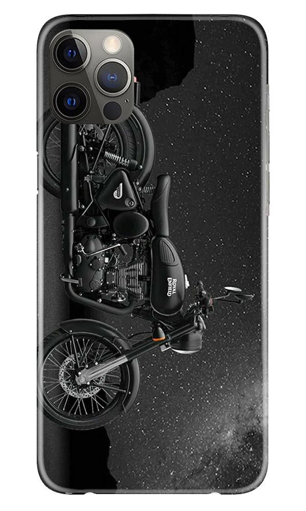 Royal Enfield Mobile Back Case for iPhone 12 Pro Max (Design - 381)