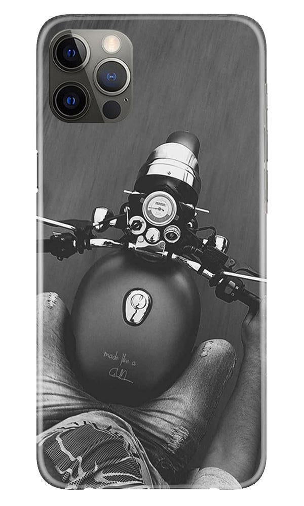 Royal Enfield Mobile Back Case for iPhone 12 Pro Max (Design - 382)