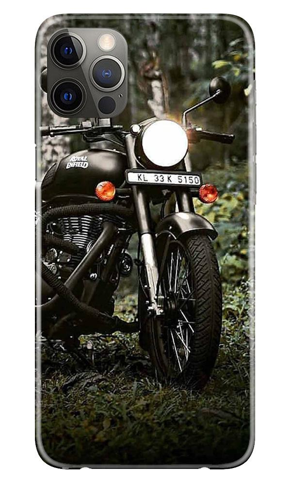 Royal Enfield Mobile Back Case for iPhone 12 Pro Max (Design - 384)