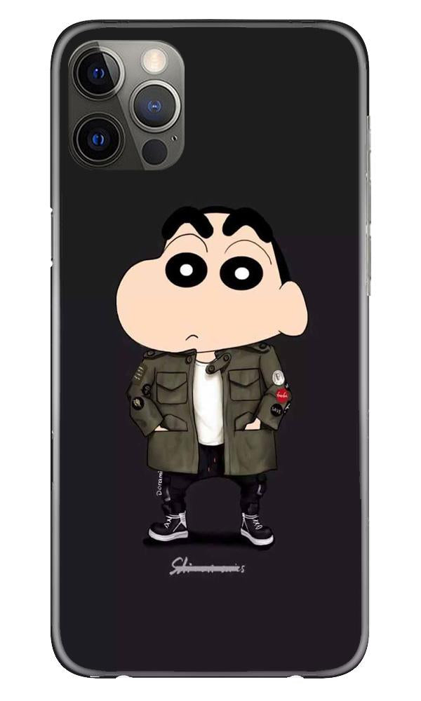 Shin Chan Mobile Back Case for iPhone 12 Pro Max (Design - 391)