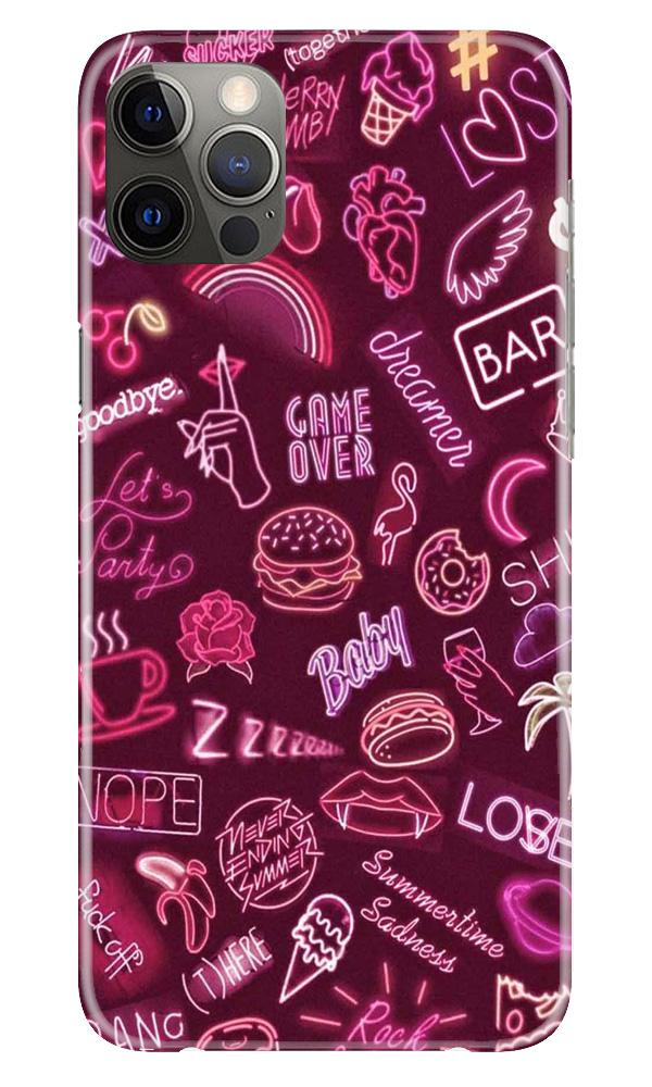 Party Theme Mobile Back Case for iPhone 12 Pro Max (Design - 392)