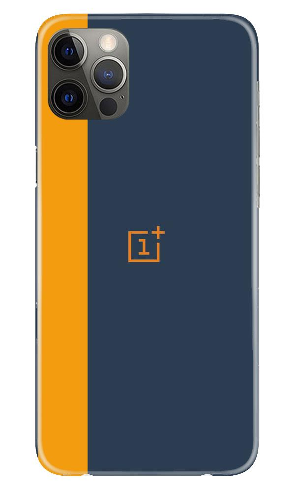 Oneplus Logo Mobile Back Case for iPhone 12 Pro Max (Design - 395)