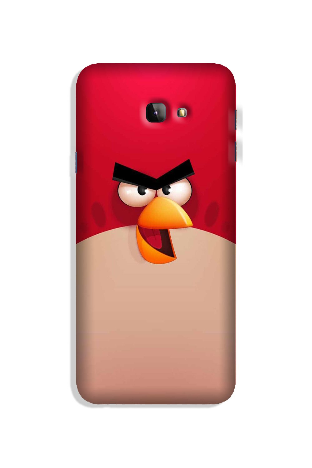 Angry Bird Red Mobile Back Case for Galaxy J4 Plus (Design - 325)