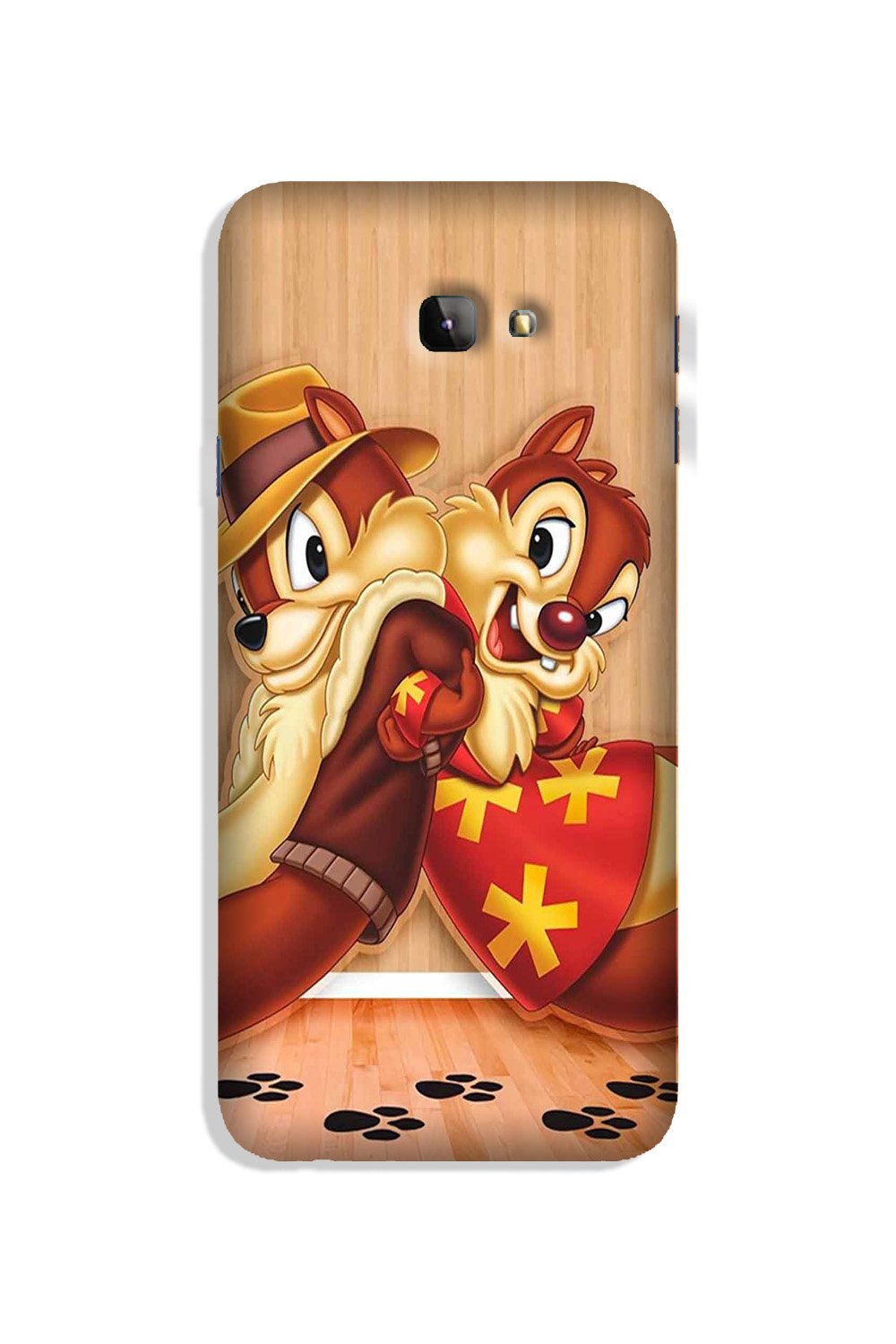 Chip n Dale Mobile Back Case for Galaxy J4 Plus (Design - 335)