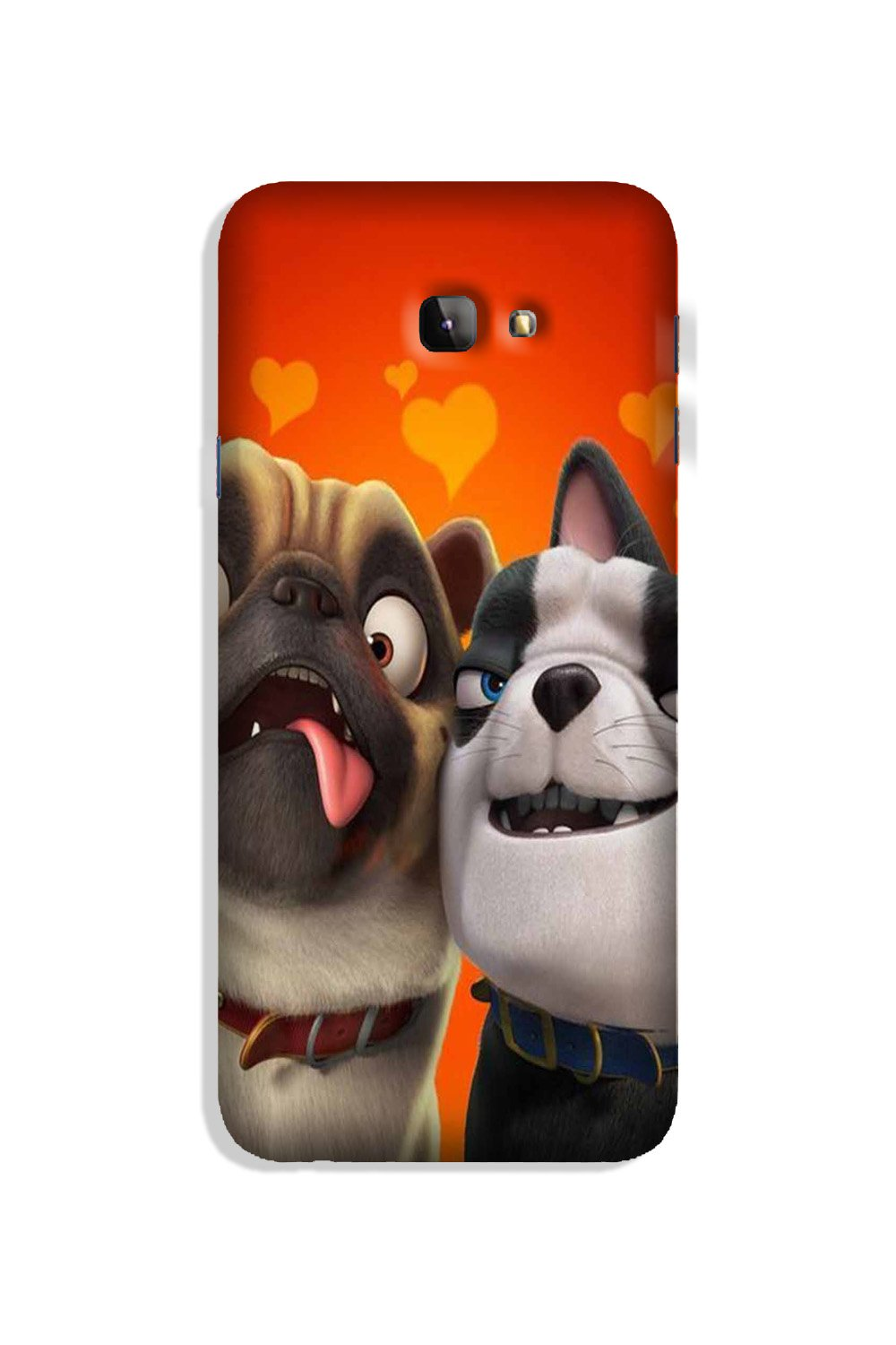 Dog Puppy Mobile Back Case for Galaxy J4 Plus (Design - 350)