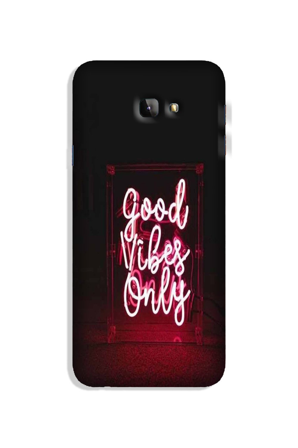 Good Vibes Only Mobile Back Case for Galaxy J4 Plus (Design - 354)